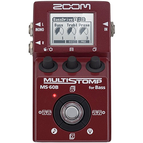 Zoom MS60B Multi-Stomp Bass Pedal (International Version - No Warranty) by Zoom