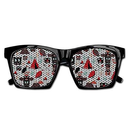 Wild West Indian Mask Full Resin Frame Sunglasses for Men Mens Sunglasses Driving Rectangular Sun Glasses for ()