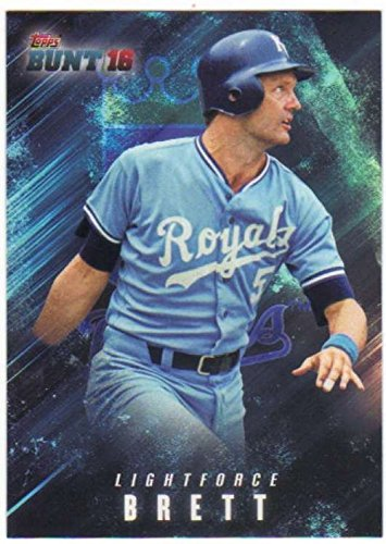 2016 Bunt Light Force  Lf 5 George Brett Nm Mt Royals