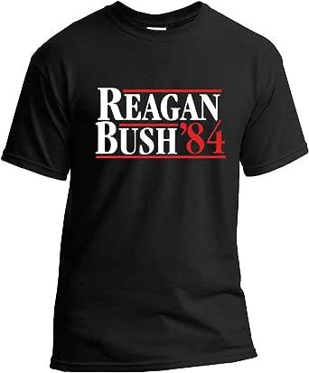 New York Fashion Police Reagan Bush 84 T-Shirt Republican Presidential Election Campaign GOP T-Shirt