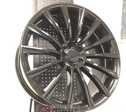 Mercedes Benz Rims >> Amazon Com 18 Stag Mercedes Benz S Amg Turbine Style Rims
