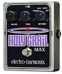 The Holy Grail Max shares the Holy Grail's remarkable Spring and Hall reverbs. Then we added a Plate reverb, with its wonderfully lush tone, and Reverse reverb for the sonically adventurous. The Max's multi-function control lets you adjust de...