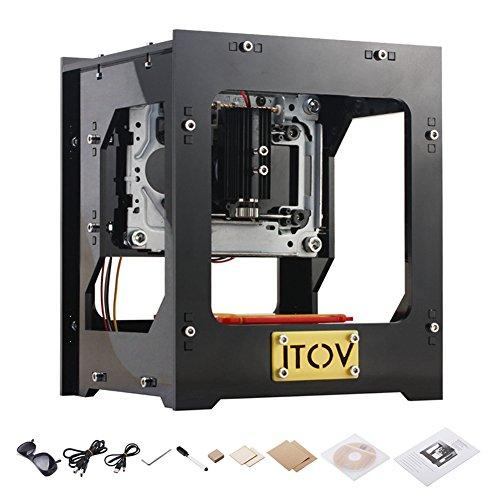 1000mW Laser Engraving Machine DIY Laser Engraver Printer (Laser Engraving Metal Pen)
