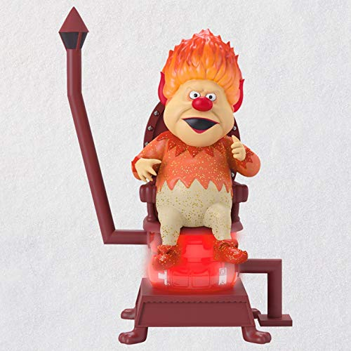 Hallmark Keepsake Christmas Ornament 2018 Year Dated Heat Miser