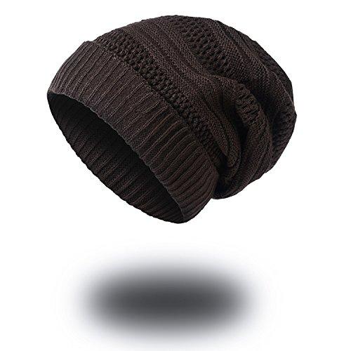 marino beanie tejido Señoras Halloween Cálida MASTER curling azul tejidos lana señoras sombreros caps gorra sombreros Men sombreros Navidad Brown de sombreros tapas espesada caliente de qAItg