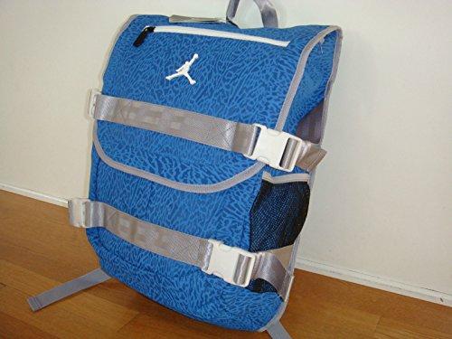 Nike Air Jordan Jumpman Backpack Book Bag Dark Blue Light