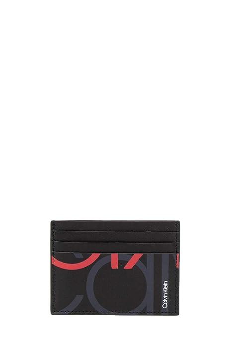 vasta selezione di e8000 1dcfc Calvin Klein Portafoglio Uomo Super XL Logo Cardholder ...