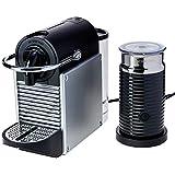 Máquina de Café Combo Pixie Alumínio com Aeroccino, 220V, Nespresso, Prata