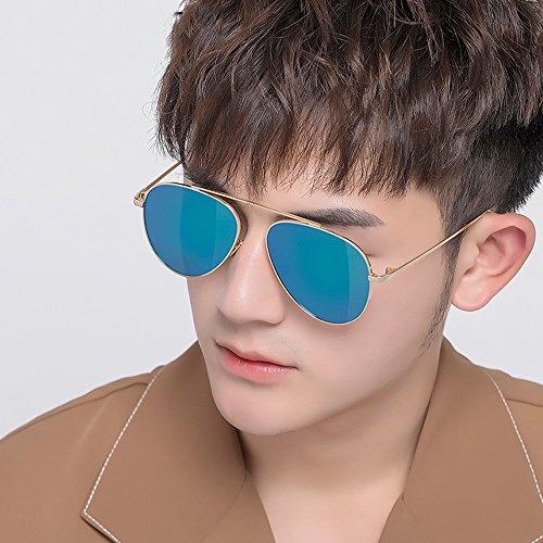 SSSX réfléchissantes lunettes légères réfléchissant pour polarisées Blue UV Noir Lunettes Miroir anti soleil GYYTYJ Couleur Ice hommes de Lunettes soleil multicolores pour de gwxqdP