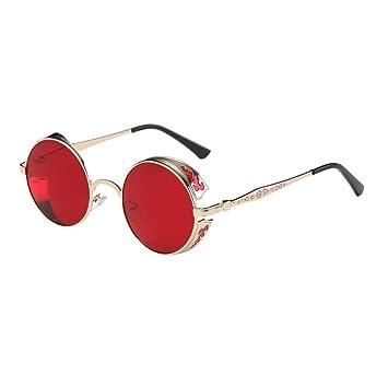 Gafas de sol OHQ Gafas de sol Vintage Graduación Color Plata ...