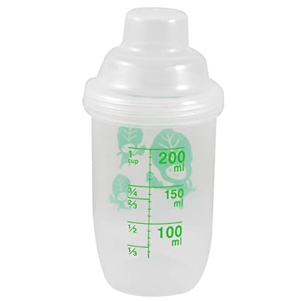 Amazon.com: 200 ml Capacidad Plástico Transparente Botella ...