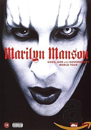 Marilyn Manson Guns God And Goverment World Amazonde Marilyn