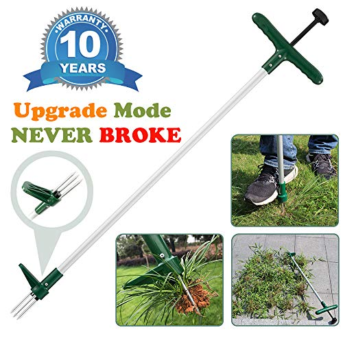 Great Features Of Walensee Stand Up Weeder and Weed Puller, Stand up Manual Weeder Hand Tool with 3 ...