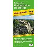 Ferienregion Greifensteine Erzgebirge: Wanderkarte mit Ausflugszielen, Einkehr- & Freizeittipps, wetterfest, reißfest, abwischbar, GPS-genau. 1:25000 (Wanderkarte / WK)