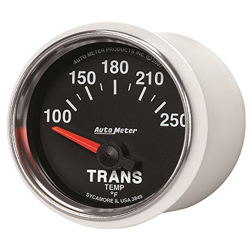 Auto Meter 3849 GS Electric Transmission Temperature (Mechanical Transmission Temperature Gauge)