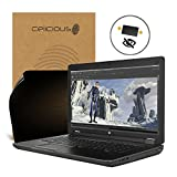 Celicious Privacy HP ZBook 17 G2 2-Way Visual Black Out Screen Protector