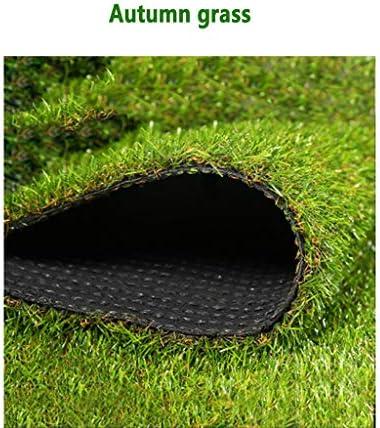 現実的な偽造草高級芝生合成、1 m×5 m廊下パッドを選択する他のサイズ (Size : 1mx6m)