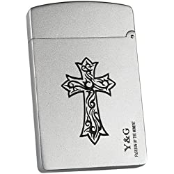 MC4003 Cross Alloy,Stainless steel Business Card Holders / Credit card Father S Day Gift Ideas By Y&G