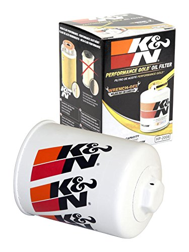 HP-2008 K&N Performance Oil Filter; AUTOMOTIVE (Automotive Oil Filters):