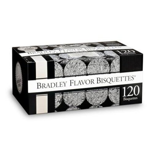 Bradley Smoker Flavor Bisquettes - Box 120 - Apple by Bradley