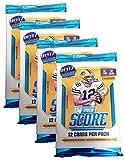 Panini 2018-2019 Score NFL Football Trading Cards Retail Factory Sealed 4 Packs + Bonus Pack