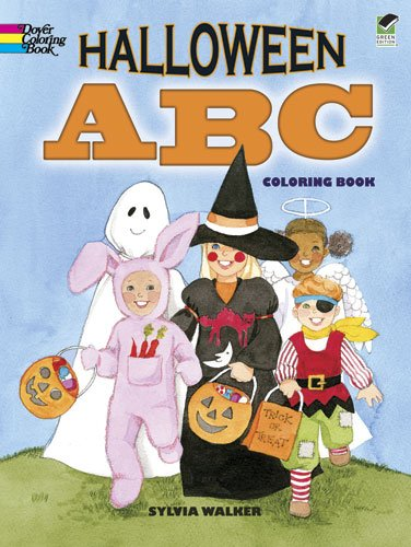 Halloween ABC Coloring Book (Dover Holiday Coloring Book) ()