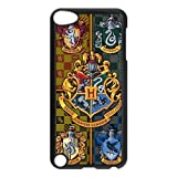 iPod Touch 5/5th Generation case,Plastic Harry Potter Cover Shell Hard Back Case for Apple iPod Touch 5,Harry Potter Silicone Case Cover for iPod Touch 5 5G 5th Generation