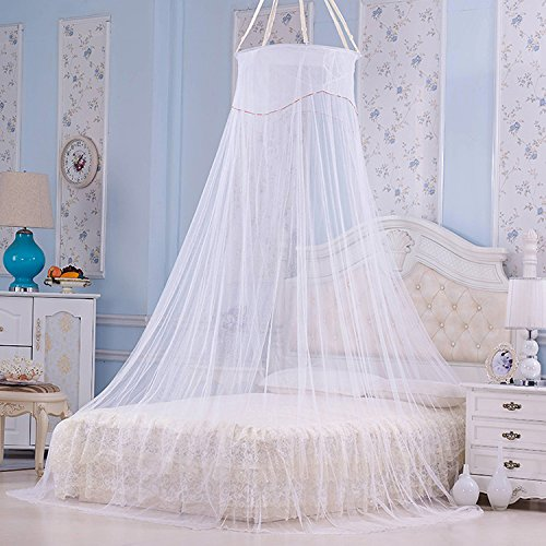 Yahee Betthimmel Moskitonetz Fliegennetz Mücken Netz Schutz Bett & Doppelbett