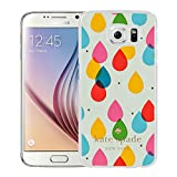 Luxurious And Nice Custom Designed Kate Spade Cover Case For Samsung Galaxy S6 White Phone Case 205