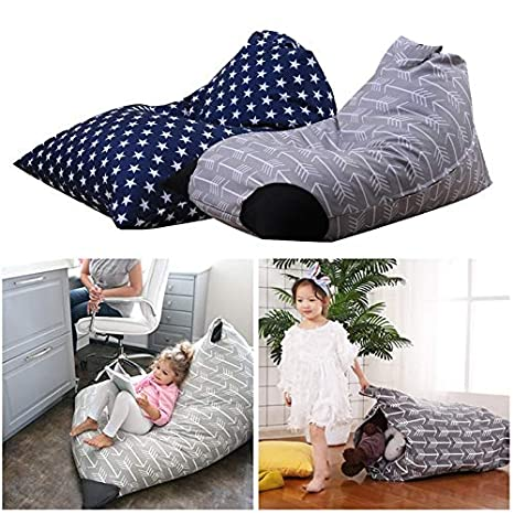 Magnificent Amazon Com Home Storage Bag Bean Bag Stuffed Toys Bag Sofa Gmtry Best Dining Table And Chair Ideas Images Gmtryco