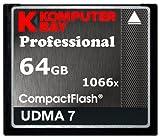 Komputerbay 64GB Professional Compact Flash card 1066X CF Write 155MB/s Read 160MB/s Extreme Speed UDMA 7 RAW