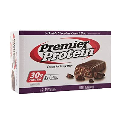 Premier Nutrition High Protein Bar Double Chocolate Crunch
