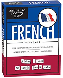 magnetic poetry french kit words for refrigerator write poems and letters on the fridge