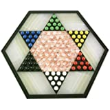 NOVICA Hand Crafted Marble and Onyx Chinese Checkers Family Game, Multicolor, 'Colorful Contrast'