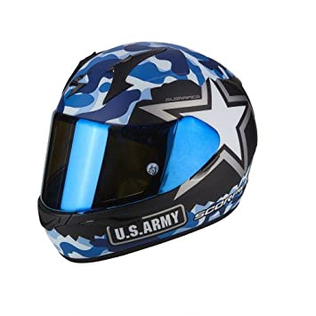 Scorpion Casco Moto exo-390 Army, multicolor, ...