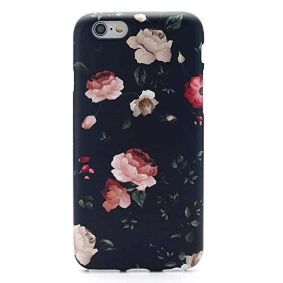 half off 378bc fc3a4 Amazon.com: GOLINK iPhone 6 Case for Girls/iPhone 6S Floral Case ...