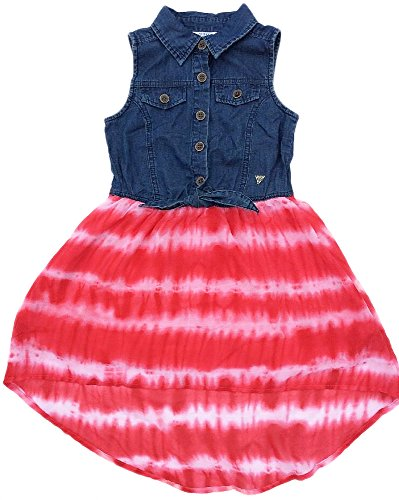 Guess Denim and Tie Dye Dress for Girls – Size - Store Outlet Guess