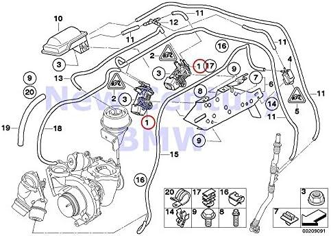 Amazon.com: BMW Genuine Vacuum Control Pressure Converter X5 3.5d X5 35dX  335d: AutomotiveAmazon.com