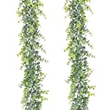 Artiflr Artificial Vines Faux Eucalyptus Garland