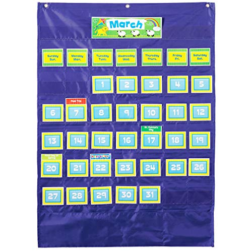 Carson-Dellosa CD-158156 Deluxe Calendar Pocket Chart for $<!--$13.53-->