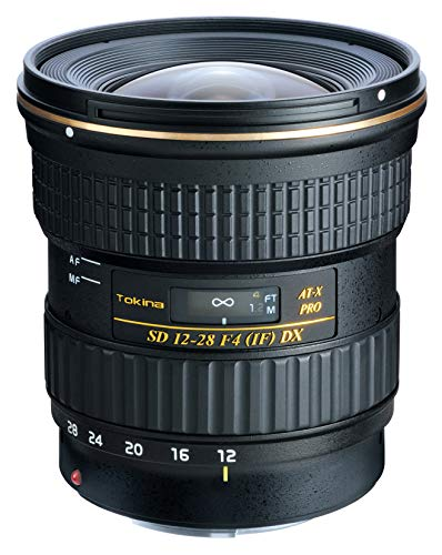 Tokina ATXAF128DXC 12-28mm F/4.0 at-X Pro APS-C Lens for Canon - International Version