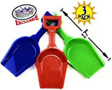 "Best Beach Shovels - Matty's Toy Stop 17"" Kids Sand Scoop Plastic Review"