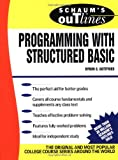 img - for Schaum's Outline of Programming with Structured BASIC book / textbook / text book