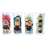 Silver Buffalo DM031T1 Universal Despicable Me Minion Madness Tumbler Glass Set, 4-Pack Review