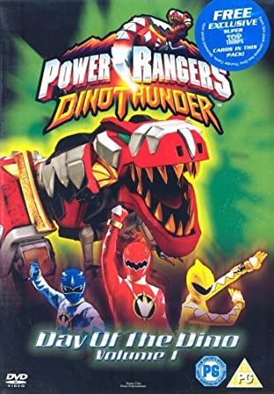 Power Rangers Dino-Day of Dino [Reino Unido] [DVD]: Amazon.es: Power Rangers Dino Thunder: Cine y Series TV