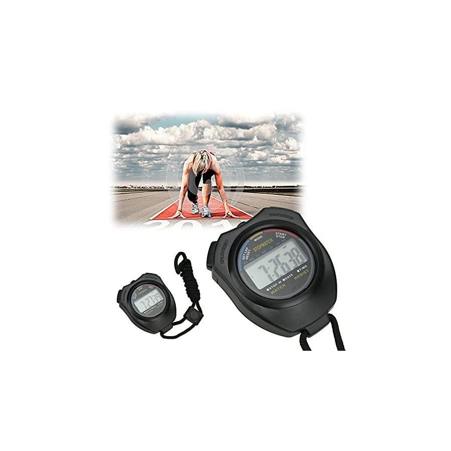 HQMaster Stopwatch Timer Extra Large Display Ideal for Coaches, Runners and Athletes