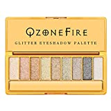 Glitter Eyeshadow Palette 9 Colors Sparkle Eyeshadow Shimmer Ultra Long Lasting Makeup Palette for Mother's Day Wedding Evening Party