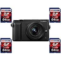 Panasonic LUMIX GX85 DMC-GX85KK + 12-32mm Lens + 4x 64GB Memory Cards