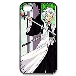 Coolest Hitsugaya Toushirou BLEACH Apple Iphone 4S/4 Case Cover Cartoon Anime Series
