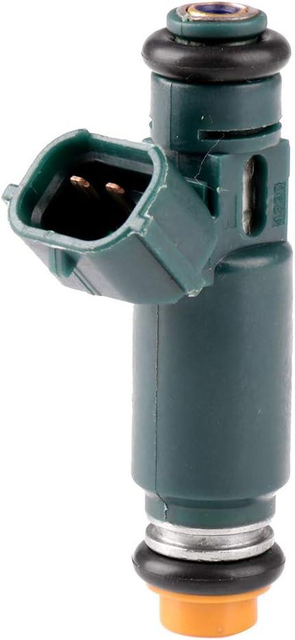 TUPARTS Fuel Injectors Set 4pcs 12Holes Fuel Injector Parts fit for 2002 2003 2004 2005 2006 Nissan Altima 2.5L,2002 2003 2004 2005 2006 Nissan Sentra 2.5L,195500-4390